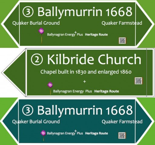 Proposed New Signposts