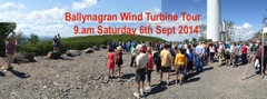 Notice - Ballynagran Energy Plus⁺ Wind Turbine Tour, Sat 9am, 6th Sept.