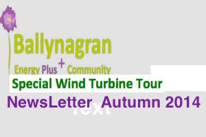 Wind Turbine Tour Newsletter - Autumn-2014