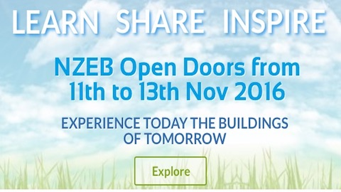 Visit a Local Nearly Zero Energy Building - 11th-13th Nov 2016